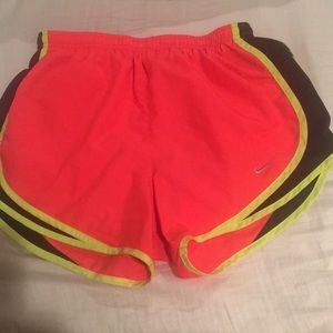 Nike dri fit size s running shorts